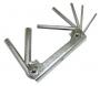 Комплект шестигранников в ключнице Jonnesway H01M07SF